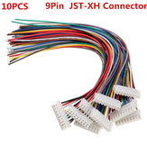10PCS 9Pin 8S Terminal-Draht-Balance Charger Male / Female JST-XH Steckverbinder Kabel