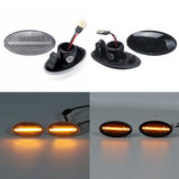 2PCS 3W 12V  Dynamic LED Side Marker Lights Lamps Amber For Suzuki Swift Alto SX4