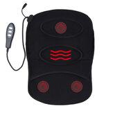 Carro Protable Massagem Almofada Função de aquecimento ultra fino 3 modos Car Home Office