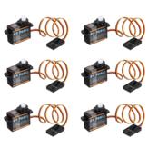 RCモデル用 6X Emax ES9251 2.5g プラスチック マイクロデジタルサーボ