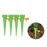 4 قطع السيارات سبايك نظام الري بالتنقيط الري حديقة النباتات زهرة مجموعات الري