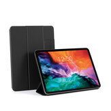 Bakeey pour iPad Pro 11 pouces 2020/2018 pur support magnétique rabattable pliable en cuir PU housse complète du corps étui de protection