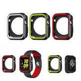 Sport Dual Colors Silicone Custodia protettiva per Apple Watch iWatch 38 / 42mm