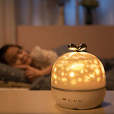 Coversage Rotating Night Light Proyektor Spin Starry Sky Star Ocean World Anak Anak Bayi Tidur Romantis Proyeksi