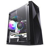 Aigo Rainbow2 Computer Case Acrylic Side Panel ATX/M-ATX/ITX Supported USB 3.0
