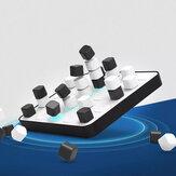 GIIKER Smart Space Quatro Homens Xadrez Tridimensional Space Checkerboard bluetooth Networking Adultos e Crianças Jogos de Puzzle AI Batalha com Luz Lembrete de Xiaomi Youpin