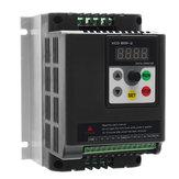 Convertidor de frecuencia variable de 2.2KW 220V de una sola fase a 3 fases motor convertidor de velocidad de accionamiento
