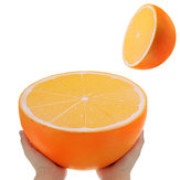 Huge Orange Squishy 9.84in 25*25*14CM Giant Slow Rising With Packaging Cartoon Gift Soft Toy