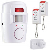 Wireless Remote Controlled Mini Alarm with IR Infrared Motion Sensor Detector