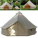 3m4m5m6mGrandeCampana Tenda Impermeabile Tela di Cotone baldacchino baldacchino Matrimonio Celebrazione Tendalino parasole per esterni campeggio