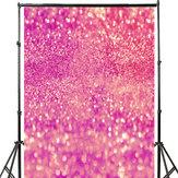 3x5FT 5x7FT Vinil Rosa Brilhando Glitters Fotografia Fundo Backdrop Estúdio Prop