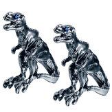 1 par Cool Tyrannosaurus Rex Unisex Punk Dinosaur Stud Pendientes para hombres y Mujer