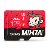 Mixza Год Обезьяны Limited Edition 128GB U1 TF Micro Memory Card для цифрового камера MP3 TV Коробка Смартфон