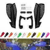 Motorfiets 22mm Handbar Handbeschermers Motocross Handguard Protector Bescherming Crossmotor Pit Bike ATV Quads
