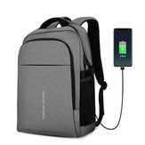 MARK RYDEN MR9191 Multifunction USB Charging 15.6 inch Laptop Backpack Large Capacity Student Bag