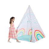 100cm*140cm Large Kids Play Tent Teepee Children Playroom Indian Play House Room Baby Game Outdoor Indoor Home