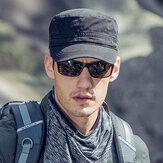 Hommes coton occasionnel voyage en plein air Spoet pare-soleil respirant chapeau plat casquette à visière