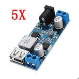 5pcs 24V / 12V a 5V 5A DC-DC Buck Power Module Baje el convertidor de potencia del módulo