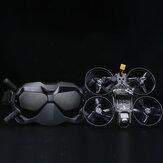 iFlight TITAN DC2 HD 122 mm 4S 2,5-Zoll-BNF mit digitaler Lufteinheit DJI + DJI Brille FPV Racing Drone