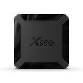 X96Q Allwinner H313 Cuatro Nucleos Android 10.0 DDR3 2GB RAM eMMC 16GB ROM 4K TV Caja