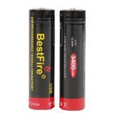 2PCS BestFire 18650 Battery 3400mAh 40A 3.7V USB Rechargeable Li-ion Battery With Protection Board