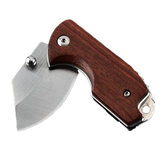 120mm Mini EDC Folding Knife D2 Steel Blade Rosewood Handle Cutter Outdoor Camping Survival Tactical Knive Gift For Men