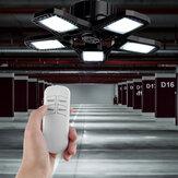 E27 3/4/5 Lâminas LED Garagem dobrável Luz de teto Oficina de mineração Supermercado