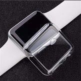 Protector de Pantalla Clip On Duro Fino Claro para 38 / 42mm Apple Watch 1