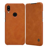 NILLKIN Flip Shockproof Card Slot Holder PU Leather Protective Case for Xiaomi Redimi 7 Non-original