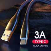 YKZ 3A Type-C Micro USB Fast Charging Data Cable for Samsung Galaxy Note S20 ultra Huawei Mate40 for OnePlus 8 Pro