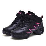 Zapatos de baile de mujer con cordones ocasionales Soft Zapatos deportivos transpirables únicos