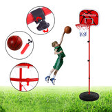1.2/1.65m Basketball Stands Adjustable Children Basketball Hoop Net Set Kids Sport Training Practice Accessories