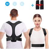 Correcteur de Posture réglable soutien du dos épaule soutien de la colonne vertébrale thérapie physique bande de fixateur de santé pour hommes femmes