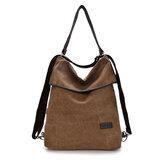 Women Canvas Handbags Girls Casual Shoulder Bags Backpacks Crossbody Bags