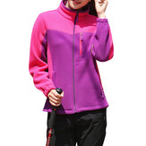 Casual Women Windproof Fleece Mountaineer Outdoor Sport Jackets