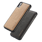 WHATIF Kraft Paper Shockproof Protective Case For iPhone XR