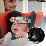 Baby Head Support Stroller Sleep Nap Aid Safety Strap Car Seat Fastening Belt US