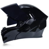 JIEKAI ABS Crashworthiness Protection Full Face Double Lens Hommes Et Femmes Moto Scooter Casque