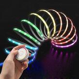 EZVALO Smart Strips Light Colorful RGB Intelligent Light Strips Controle Remoto Luzes de decoração de Natal