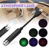 USB Tetto auto Gypsophila / Stella a cinque punte LED Luce notturna Soffitto atmosfera interna romantica lampada