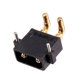 AMASS XT30PW Banana Golden XT30 Upgrade Male Plug Connector for ESC Motor PCB Board