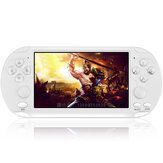 Coolbaby X9-S 8GB 3000+ Games 5.1 inch HD Screen Retro Handheld Game Console Game Player with Double Joystick for PSP PS1 Game Emulator
