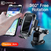 Cafele Auto lock Car Holder Gravity Phone Holder Navigation Bracket for 4.7-7.1 Inch SmartPhone For iPhone for Samsung Huawei Stand