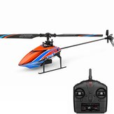 XK K127 4CH 6-Axis Gyro Altitude Hold Flybarless RC Helicopter RTF