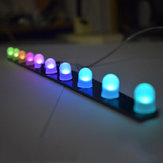 Geekcreit® DIY C51 RGB Colorful Crystal LED Aurora Colorful Flashing Light Kit With Speed Changing By Different Brightness