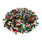 1000 PCS Mixte De Voiture Porte Bumper Défenses Fixation Retenue Rivet Push Pin Clips