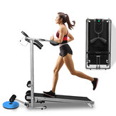 LCD Folding Treadmills Multifunctional Twisting Running Supine Massage Home Gym Fitness Exercise Equipment