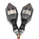 دراجة نارية السهم LED بدوره إشارة أضواء مؤشرات مصباح ل Harley / سوزوكي