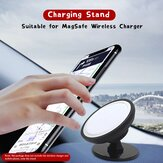 Bakeey MagSafe Wireless Charger 360° Rotation Adjustable Car Air Vent / Dashboard Holder Phone Stand for iPhone 12 Series  for Samsung Galaxy Note S20 ultra Huawei Mate40 OnePlus 8 Pro