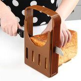 Practical Kitchen Bread Loaf Toast Slicer Cutter Maker Mold Guide Slicing Tools